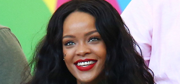 Rihanna broke FIFA rules & touched the World Cup: rude or no big deal?