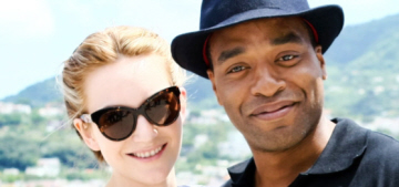 Chiwetel Ejiofor shows off his new close-cropped hair in Italy: would you hit it?
