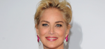 Sharon Stone says her 56-year-old butt is like 'a fine triple crème brie'