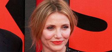Cameron Diaz 'lectured' premiere fans & refused to sign autographs: rude?