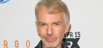 Billy Bob Thornton does all of his jeans shopping at Old Navy, in the girls' section