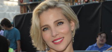 Elsa Pataky in Dolce & Gabbana at UK premiere: hot, bridal or dated?