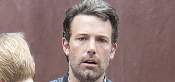 """""""The Batfleck has stubble and a grim, built-in furrowed brow"""" links"""