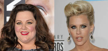 Jenny McCarthy swears she didn't tell cousin Melissa McCarthy to lose weight