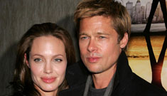 Angelina bought Brad a motorcycle & then they shacked up in a hotel alone