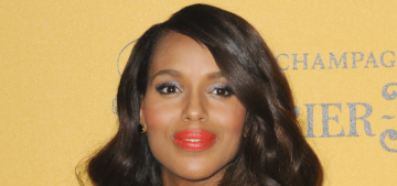 Does Kerry Washington think Beyonce is a terrible role model to young women?