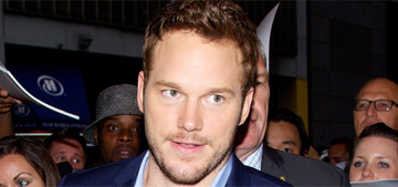 Chris Pratt swiped his Star-Lord costume so he can dress up for sick kids