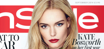 Kate Bosworth learned how to cook so she could 'nurture' her step-daughter