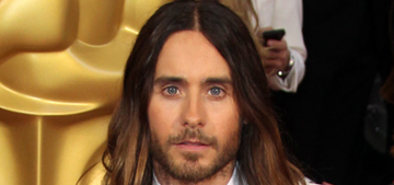 Star: Jared Leto is so method that he insists upon having sex in character