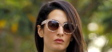 Amal Alamuddin had a NYC bridal shower, thrown by Clooney's ex Ellen Barkin?