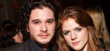 Kit Harington & Rose Leslie really are dating in real life: adorable or twee?
