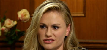 Anna Paquin schools Larry King on bisexuality: 'we are monogamous'