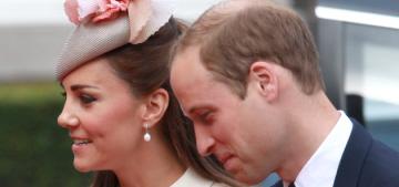 Duchess Kate wears a cream McQueen coatdress in Belgium: lovely or blah?