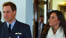Kate Middleton & Prince William moving in together, on military base