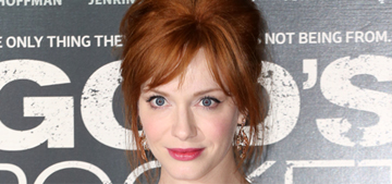 Christina Hendricks: 'There's sexual harassment at work every single day'