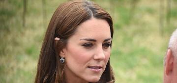 Duchess Kate repeats an LK Bennett dress for poppy exhibition in London: nice?