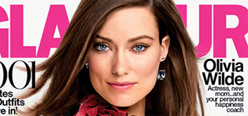 Olivia Wilde breastfeeds in her Glamour editorial: groundbreaking?