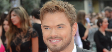 Kellan Lutz thinks Angelina Jolie should star in the girl version of 'The Expendables'