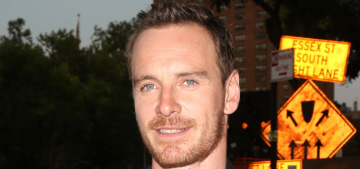 Michael Fassbender vs Domhnall Gleeson at NYC premiere: who would you rather?