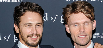 James Franco lashes out at 'homophobic' coverage about his male roommate