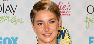 Shailene Woodley in Peter Pilotto at the Teen Choice Awards: cool or confusing?