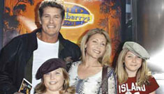 The Hoff Is Banned From Seeing His Children