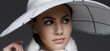 Audrey Hepburn's granddaughter Emma Ferrer cover Harper's Bazaar: amazing?