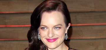 Elisabeth Moss dry-cleans her pajamas & swallows gum 'all the time'