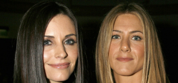 Is Courteney Cox upset that Jennifer Aniston shaded her in an interview?