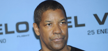 Denzel Washington partied too hard during his vacation, so he went to rehab