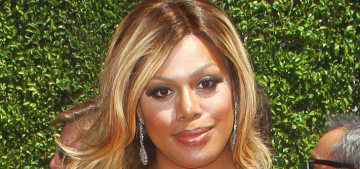 Laverne Cox in Donna Karan at the Creative Arts Emmys: stunning & perfect?