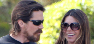 Christian Bale & wife Sibi Blazic welcomed a baby boy… at some point, recently