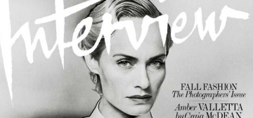 Interview Mag's September issue has six amazing covers: which is your favorite?
