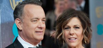 In Touch: Tom Hanks & Rita Wilson 'hit a rough patch' & briefly separated?