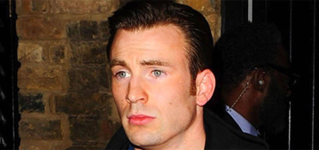 Chris Evans does the ALS Ice Bucket Challenge in a suit: charming?
