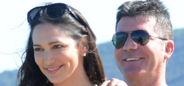Lauren Silverman & Simon Cowell's furry moobs are in Saint-Tropez: funny or gross?