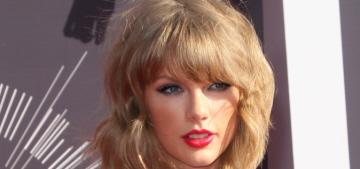 Taylor Swift in a Mary Katrantzou romper at the VMAs: tacky or adorable?