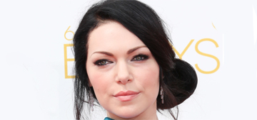 Laura Prepon in Gustavo Cadile at the Emmys: too fussy or just right?