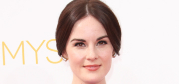 Michelle Dockery in Rosie Assoulin at the Emmys: gorgeous or boring?