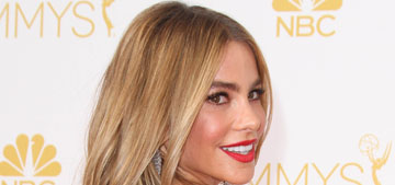 Sofia Vergara in white Cavalli at the Emmys: was she objectified on stage?