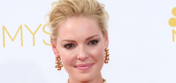 Katherine Heigl vs Lucy Liu: who worked a champagne gown better at the Emmys?