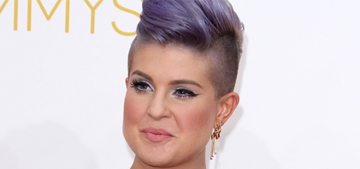 Kelly Osbourne in Honor at the Emmys: tasteless or rock 'n' roll?