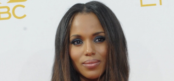 Kerry Washington in pumpkin Prada at the Emmys: tragic, disappointing or lovely?