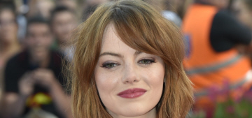 Emma Stone in green Valentino at the Venice Film Festival: beautiful or basic?