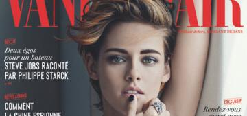 Kristen Stewart covers Vanity Fair France, talks media, gossip & taking time off