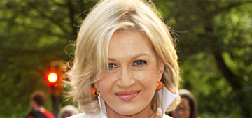 Did Katie Couric really accuse Diane Sawyer of giving beejs for interviews?