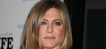 Jennifer Aniston in Saint Laurent at 'Life of Crime' premiere: unflattering or cute?