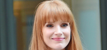 Jessica Chastain's NYC promotional look: adorable or unflattering?