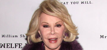 Joan Rivers is in critical condition following surgery (update: she's now stable)