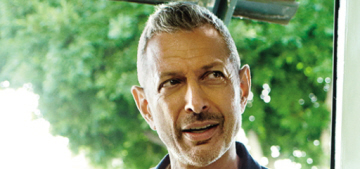 Jeff Goldblum on his dog: 'He's very delightfully loving, soulful, tactile, sensual'